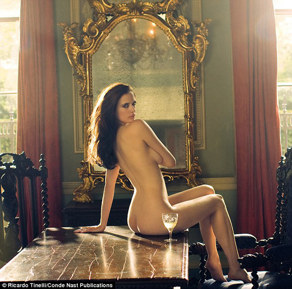 eva green ass